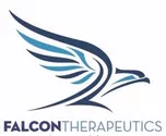Bird-shaped blue logo: Falcon Therapeutics