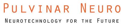 Logo: Pulvinar Neuro. Neurotechnology for the Future