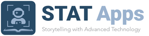 Logo: STAT Apps: Storytelling with Advanced Technology